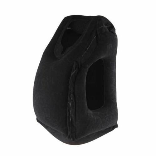 Travel pillow back support Foldable blow neck