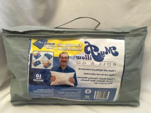 travel roll and go pillow travel size