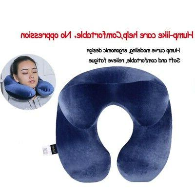 Soft Travel Pillow Neck Support Head Airplane Soft Cushion US