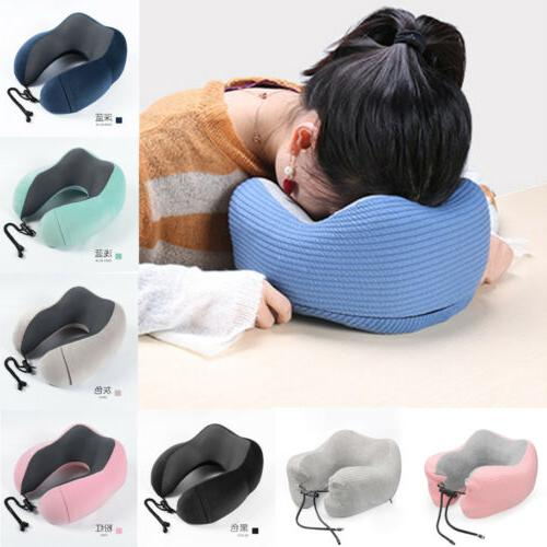 Shaped Travel Pillow Support Rest Cushion