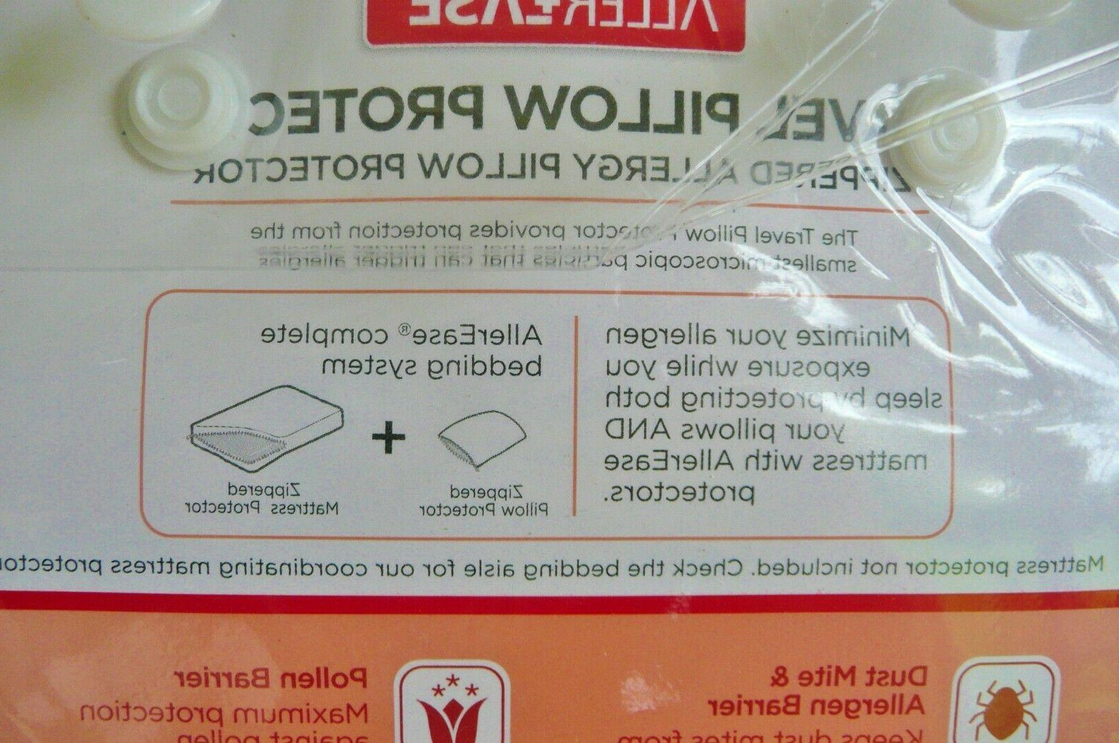 AllerEase Zippered Allergy Pillow Protector Cover X Package