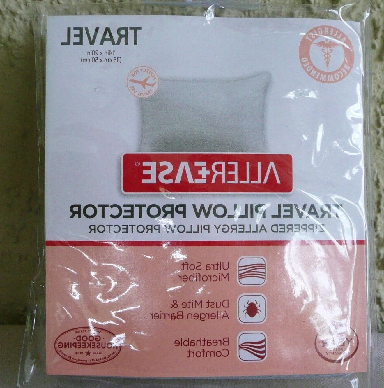 zippered travel allergy pillow protector cover 14