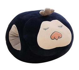 Black Temptation Lovely Hand Warmer Nap Pillow Desk Pillow T