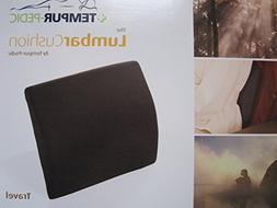 The Travel LumbarCushion by Tempur-pedic with Fabric Cover,