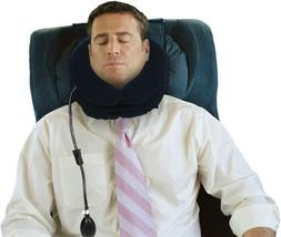 Livativ Maximum Support Travel Neck Pillow – Inflatable Tr