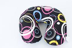 Bookishbunny Micro Beads U Shaped Travel Pillow Airplane Car