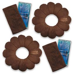 Total Pillow Microbead Portable Pillow - Use at Home or On T