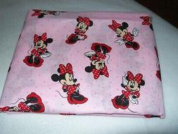 MINNIE MOUSE PINK  TRAVEL PILLOW CASE