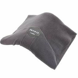 Neck Head Support Travel Pillow Scarf Lightweight Fleece