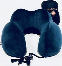 Southeast Memory Foam Travel Neck Pillow - Premium Contoured