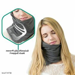 Neck Support Travel Pillow for Airplanes Soft Comfortable Tr