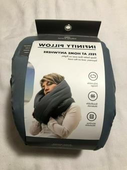Infinity  Neck Support Travel Pillow   Gray
