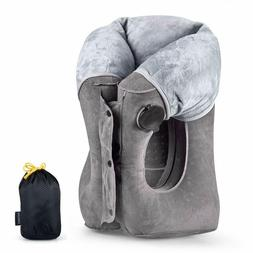 New Edition 2019 Inflatable Airplane Travel Pillow comfort