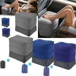 New Inflatable Office Travel Footrest Leg Foot Rest Cushion