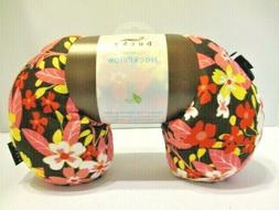 BUCKY NEW Mini Compact Comfort Travel Neck Pillow NWT Pink F