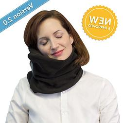 Travel Pillow with Neck Support - Temperature Control Breath