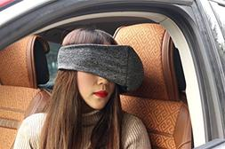 Refinemmee Travel Pillow, Voyage Pillow Eye Mask 2 in 1 Port