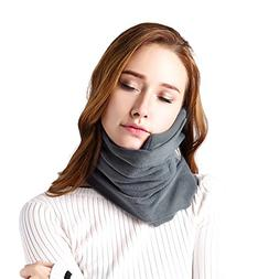Neck Support Travel Pillows for Airplanes, ANYUKE Soft Comfo