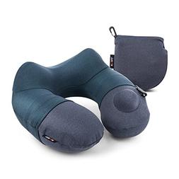 Travel Pillow, KmalI Infaltable Neck Pillow with Luxuriously