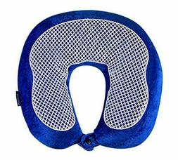 Travel Pillow Cool Gel Bamboo Neck Support Head Cushion Memo