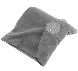 JINTOP Travel Pillow Machine Washable Scientifically Proven