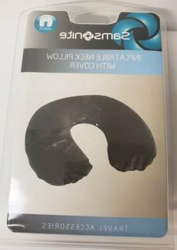 Samsonite Pillow Pouch Neck Inflatable with Cover Ergonomic