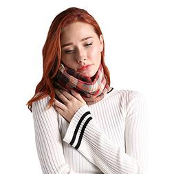 Travel Pillow Scarf for Airplane Neck Support Pillow by Jeff