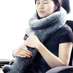 VenusCare Travel Pillow Super Sleeping Hold, Neck Chin Suppo
