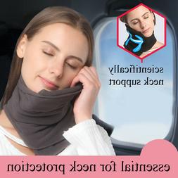 pillow super soft neck support gray machine