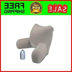 Plush Backrest Pillow Bed Cushion Support Reading Back Rest