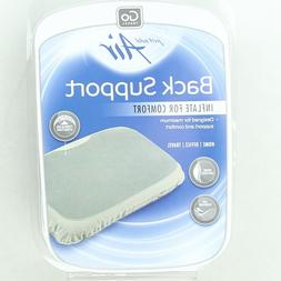 Go Travel Polyester Lumbar Support Inflatable Back Pillow 45