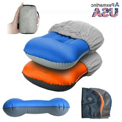 Portable Air Pillow Inflatable Ultralight Camping Travel Out