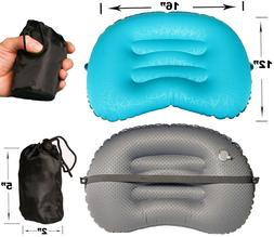Lightweight Inflatable Air Pillow, Travel, Camping, Hiking,