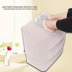 Portable PVC Travel Air Inflatable Footrest Travel Air Infla