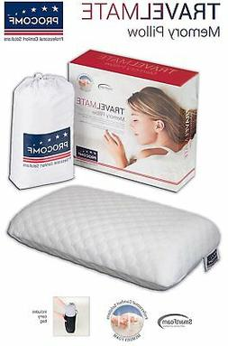 ProComf Travel Mate/Baby/Kid's/Teen's Memory Foam Pillow By