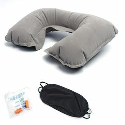 Sleepy Cloud Travel Pillow Inflatable Air Soft Cushion Trip