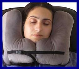 NEW!! SkySiesta SNUG Travel Pillow- Two L-Shaped, Fiber Fill