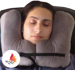 SkySiesta SNUG Travel Pillow Two L-Shaped Fiber Filled Head