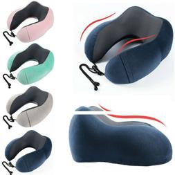 Soft Memory Foam Cotton Hump U-shaped Travel Pillow Neck Sup