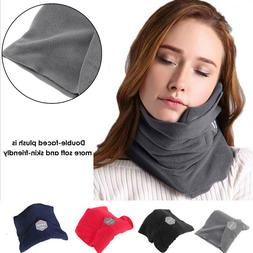 Soft Neck Support Flight Sleep Headrest Nap Scarf Portable T