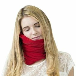 Super Soft Travel Pillow Scientifically Proven Neck Support