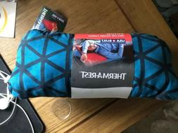 Therm-a-Rest Compressible Travel Pillow Blue Triangles BRAND