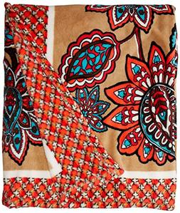 Vera Bradley Throw Blanket, Fleece, Desert Floral +. Power,