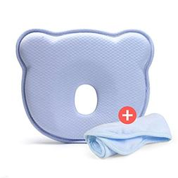Toddler Pillow Flat,Kids Baby Bed Pillow Head Neck Protect P