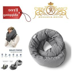 Travel Comfortable Infinity Soft Pillow Power Nap Neck Pillo