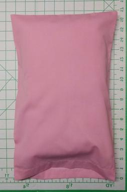 Travel Pillow 2 piece set - 1 PINK  Pillow Case & 1 white pi