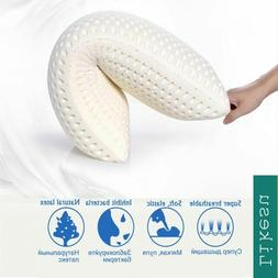 Travel Pillow Anti Wrinkle Pillow Large Soft Elastic Natural