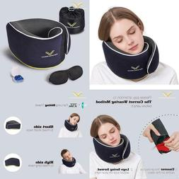 ComfoArray Travel Pillow, Neck Pillow for Airplane and Car.