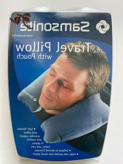 Samsonite Travel Pillow With Pouch - SM6210GY GREY