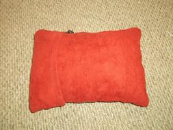 Traveling Light Compressible Pillow  Size: Small in Red by T